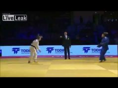 Moroccan Judoka Refuses to Shake Hands with Israeli Opponent