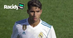 Video: Watch Achraf Hakimi's Second Performance for Real Madrid