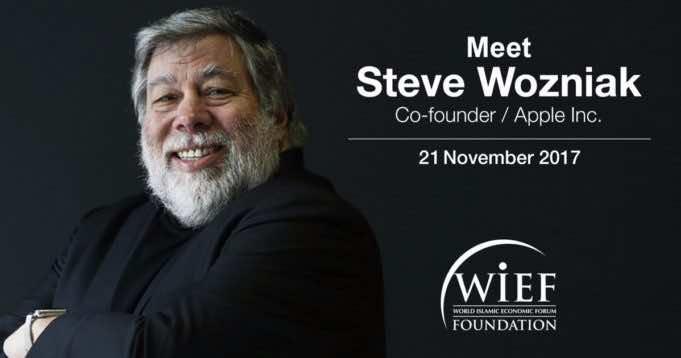 Apple Founder Steve Wozniak and World Leaders to Gather for 13 World Islamic Economic Forum