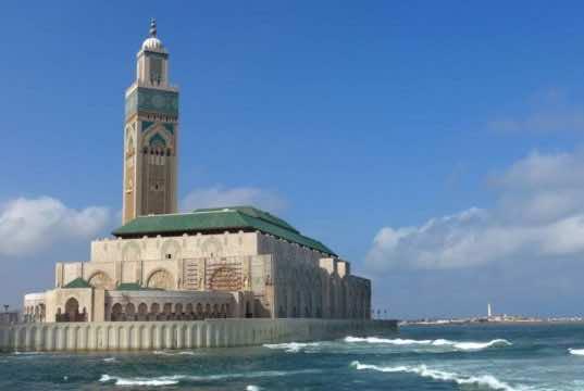 Casablanca's Hassan II Mosque Morocco