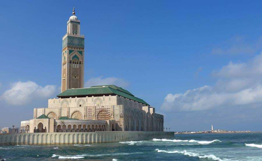 Resultado de imagen para hassan ii mosque morocco