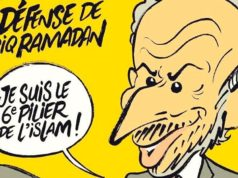 Charlie Hebdo Cover Mocks Tariq Ramadan, and Islam, for Sex Assault Allegations