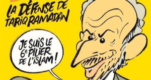 Charlie Hebdo Cover Mocks Tariq Ramadan, and Islam, for Sex Assault Allegations