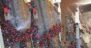 Cote d'Ivoire Police Launch Tear Gas at Moroccan Fans