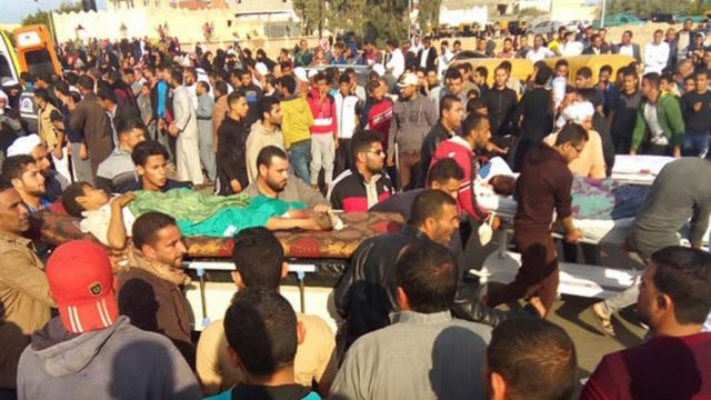 Death Toll in Egypt Mosque Attack Rises to 305 Including 27 Children