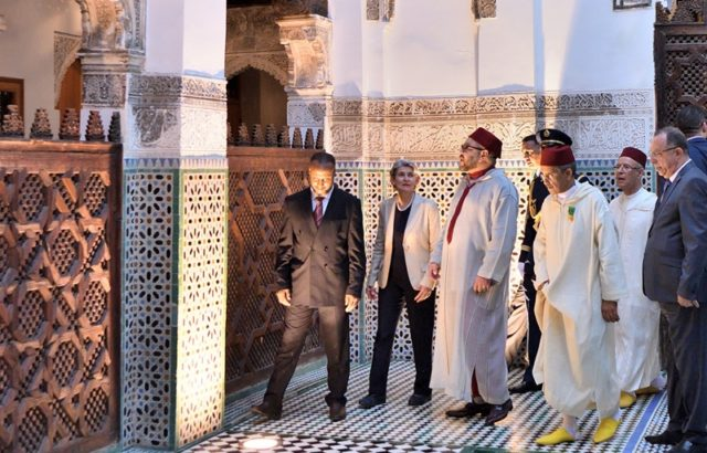 During Stay in Moulay Yaacoub Spa, King Mohammed VI Allows Locals and Tourists Free Entrance