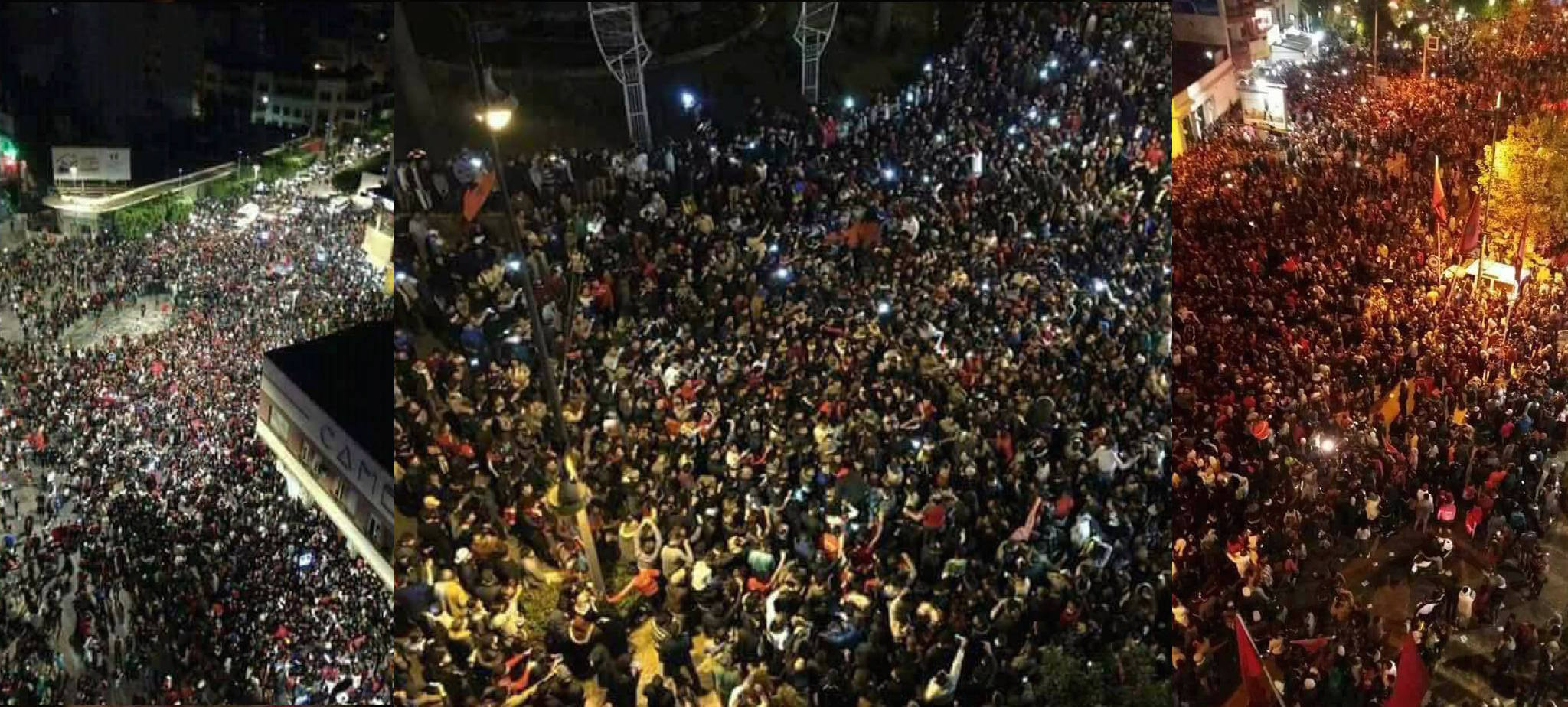 From Laayoun to Cambera: How moroccans celebrates victory arround the world