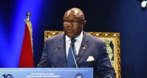 Gabonese Vice President Pierre-Calver Maganga Moussavou