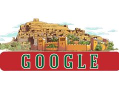 Google Celebrates 61th Anniversary of Moroccan Independence