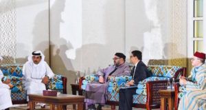 King Mohammed VI Holds Private Meeting With Emir of Qatar