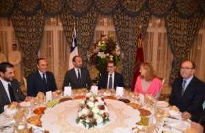 King Mohammed VI Hosts Dinner in Honor of French Prime Minister