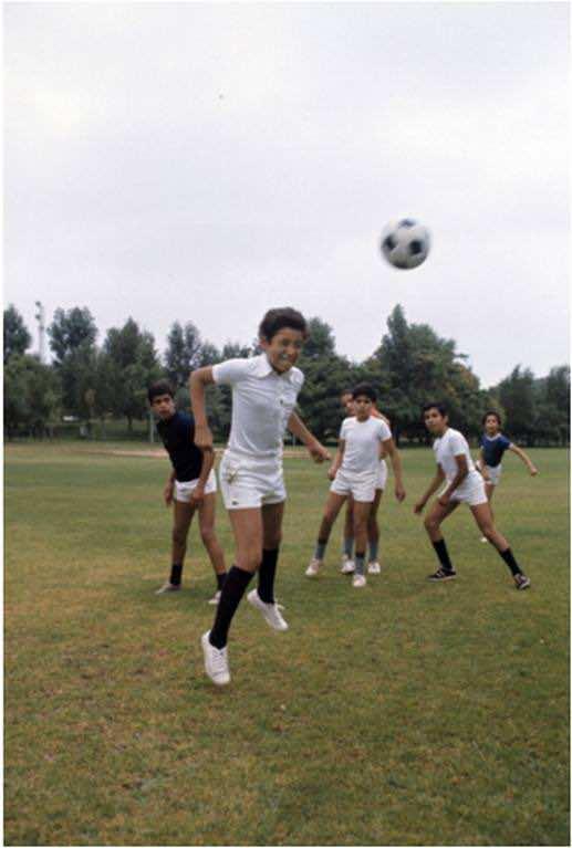 King Mohammed VI, football