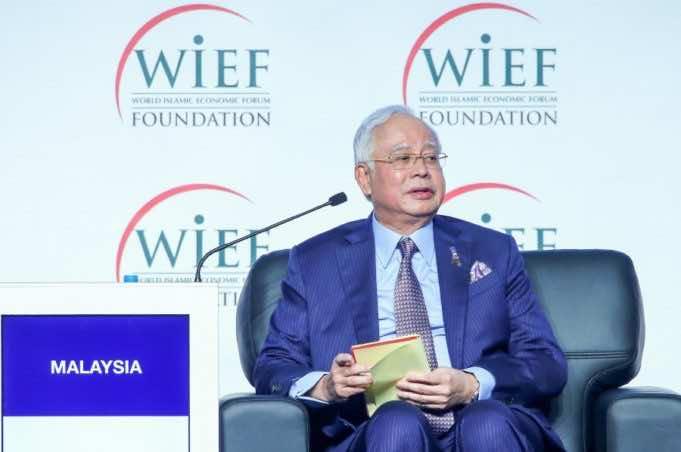 Malaysia's Prime Minister Datuk Seri Najib Razak