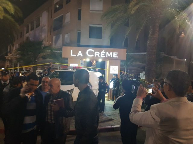 Marrakech Cafe Shooting