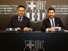 Messi Renews His Contracts With F.C. Barcelona Until 2021