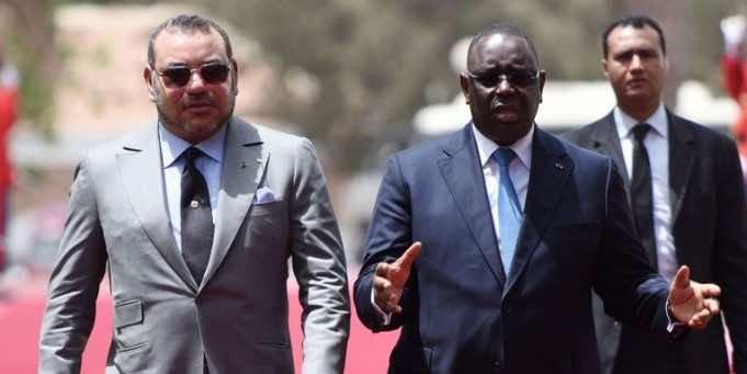 King Mohammed VI and Senegalese President Macky Sall
