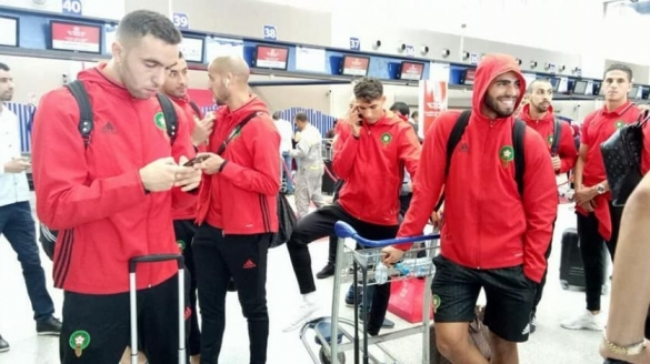 Moroccan Squad Returns Home After Historic Win Over Ivory Coast