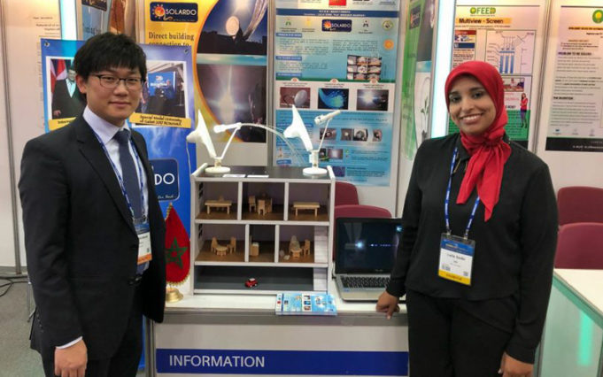 Moroccan Engineer Laila Sidqi Wins Gold in South Korea Energy Competition