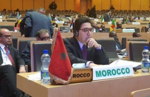 Moroccan Foriegn Minister Nasser Bourita