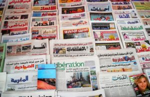 Moroccan newspapers