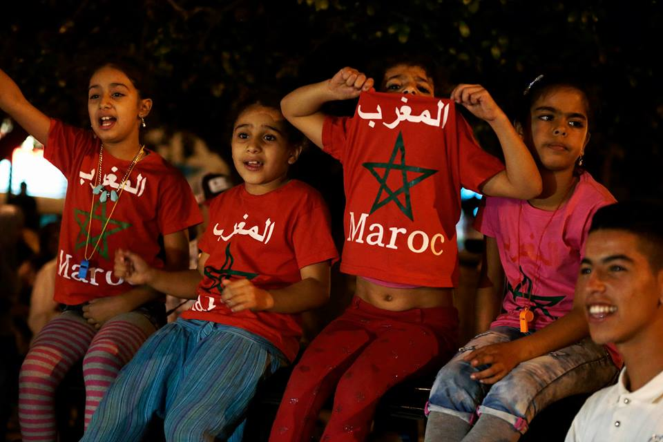 Moroccans celebrate Atlas Lions' qualification to 2018 FIFA World Cup