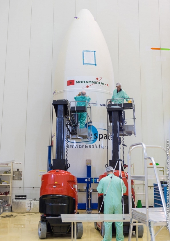 Morocco's First Reconnaissance Satellite Will Launch November 8
