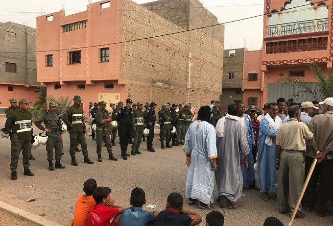 """Ouarzazate Court of Appeal Jails 5 Demonstrators over """"Thirst Protests"""" in Zagora"""