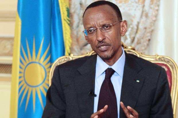 Rwanda President Paul Kagame