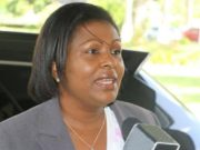 Sarah Flood-Beaubrun, Saint Lucia's external affairs minister