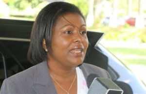 Sarah Flood-Beaubrun, Saint Lucia's external affairs minister