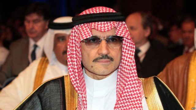 Saudi Arabia Arrests 11 Princes, Incl. Billionaire Alwaleed Bin Talal For Corruption