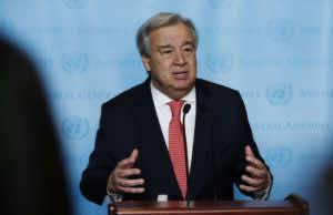 United Nations Secretary-General Antonio Guterres Western Sahara
