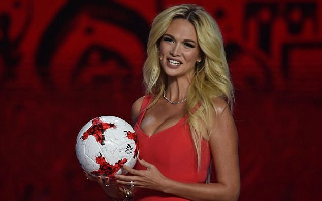 2018 World Cup Ambassador Victoria Lopyreva Congratulates Moroccan Football Team