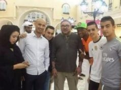 King Mohammed VI in Pictures with the Moroccans of Qatar