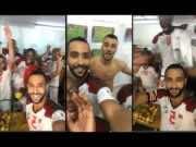 Watch Moroccan Team's Locker Room Celebration After Historic Win