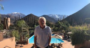 Richard Branson's Moroccan Holiday at Kasbah Tamadot in Atlas Mountains