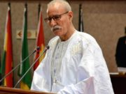 Brahim Ghali, head of the Polisario