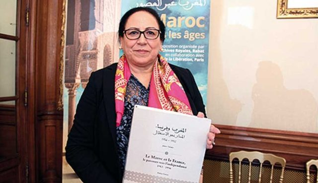 Director of Royal Archives Bahija Simou Receives French Legion of Honor