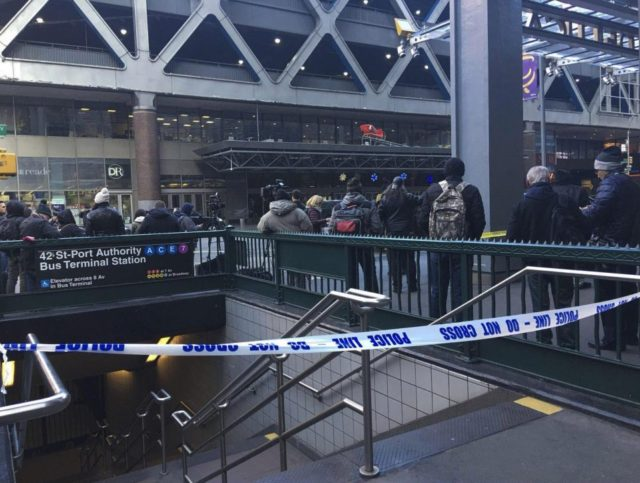 Explosion in New York Bus Terminal, One in Custody, Others Injured