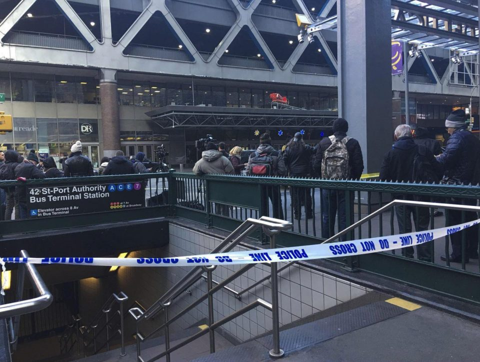 Explosion near Port Authority a 'terrorist attack'