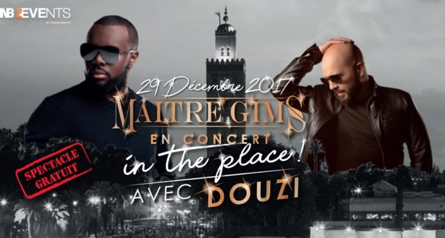 French Rapper Maitre Gims to Hold Free Concert in Marrakech