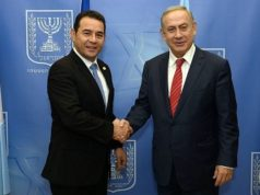 Guatemala Vows to Move its Embassy to Jerusalem