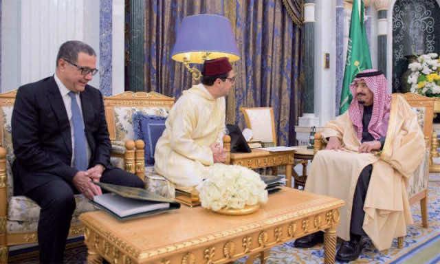 King Mohammed VI, King Salman, Nasser Bourita, Morocco, Saudi Arabia