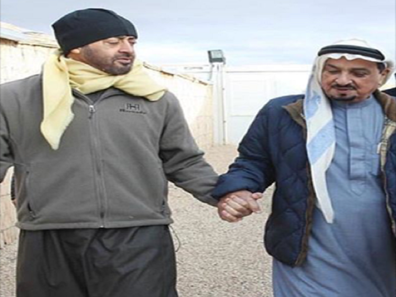 King of Bahrain and Abu Dhabi Crown Prince in Falconry Trip in Morocco