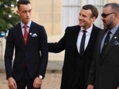 Macron Receives King Mohammed VI and Crown Prince Moulay El Hassan