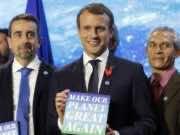 Emmanuel Macron, Climate Change, Climate Science