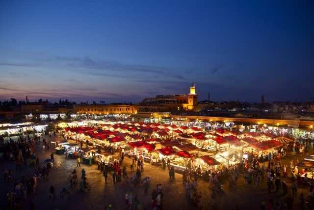 Celebrities in Marrakech