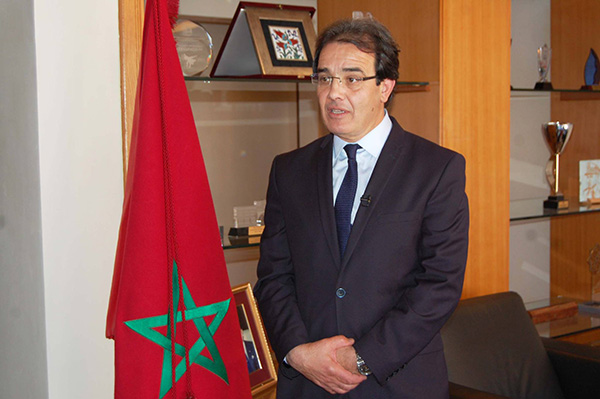 Minister responsible for Moroccans Residing Abroad and Immigration Affairs, Abdelkrim Benatiq