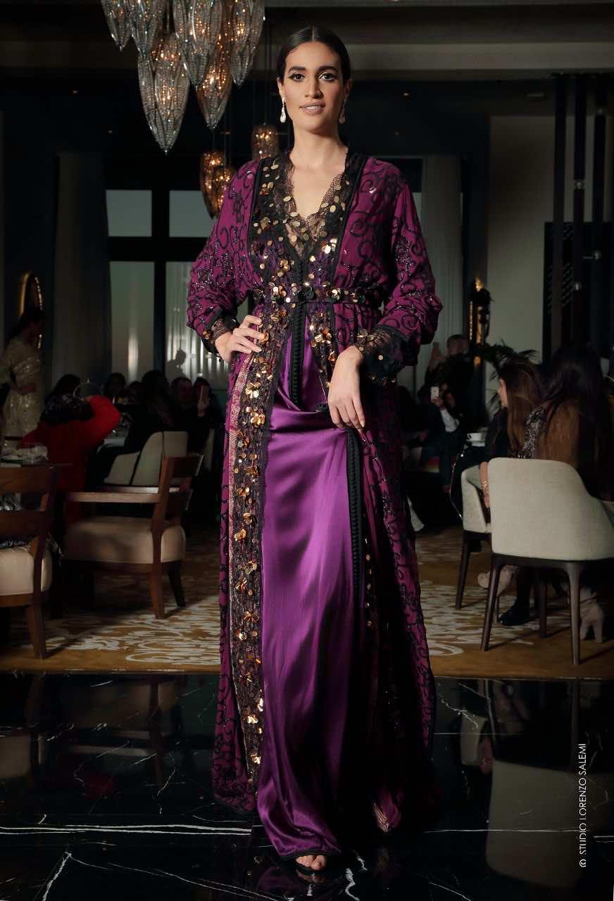 Moroccan Caftan, Fashion show, Samira Hadouchi