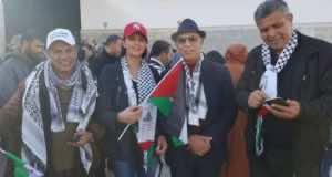 Nabila Mounib's Fashion Faux Pas Sends Wrong Message in Rabat March for Jerusalem